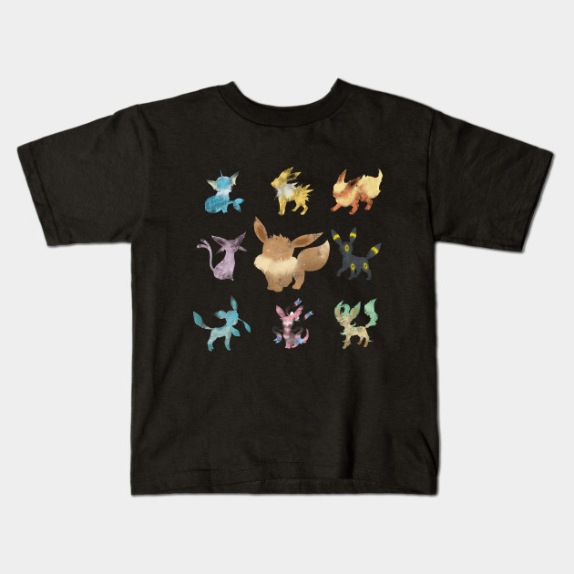 b1e2a049 Eeveelution - Eevee - Kids T-Shirt | TeePublic