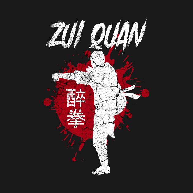 Zui Quan Martial Arts Training Drunken Boxing Outfit