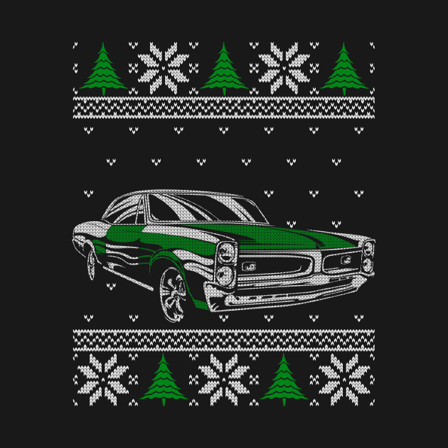 Classic Car Driver Ugly Christmas Sweater