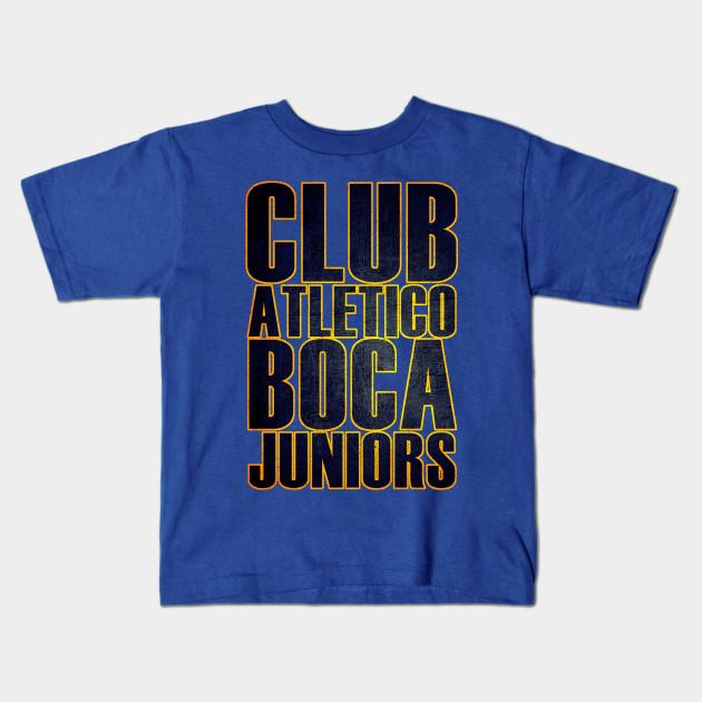 Ni/ños Boca Juniors Body Marine Camiseta