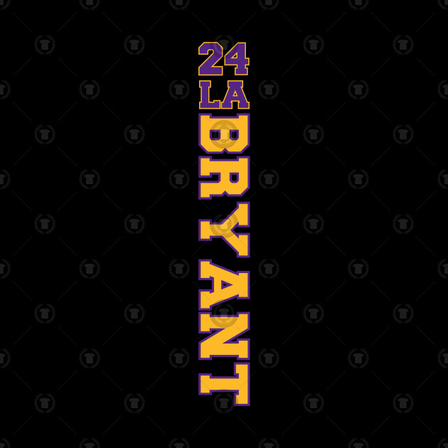Kobe Bryant 24 Los Angeles Lakers