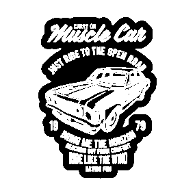 Carry On Muscle Car Stickers Teepublic