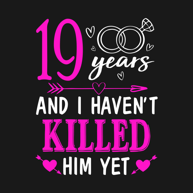Gifts For 19th Wedding Anniversary: 19th Wedding Anniversary Shirt For Wife From Husband