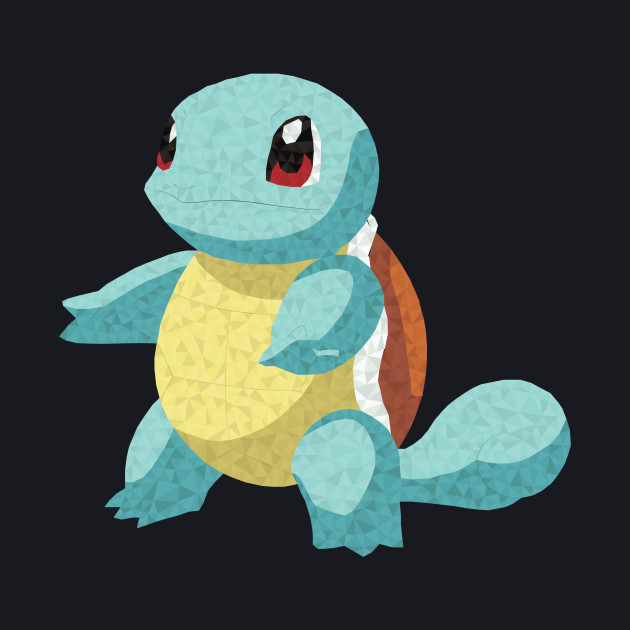 Squirtle Low-Poly