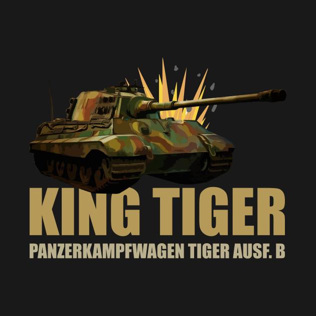 King Tiger II Panzer Tank World War Two German Army