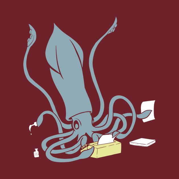 Squid on a Typewriter