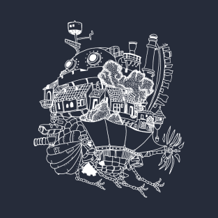 Moving Castle t-shirts