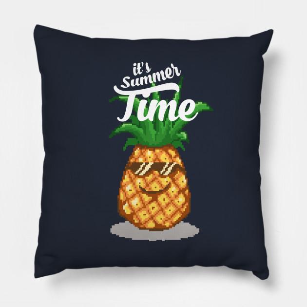 Summer Time Pineapple Pixel Art