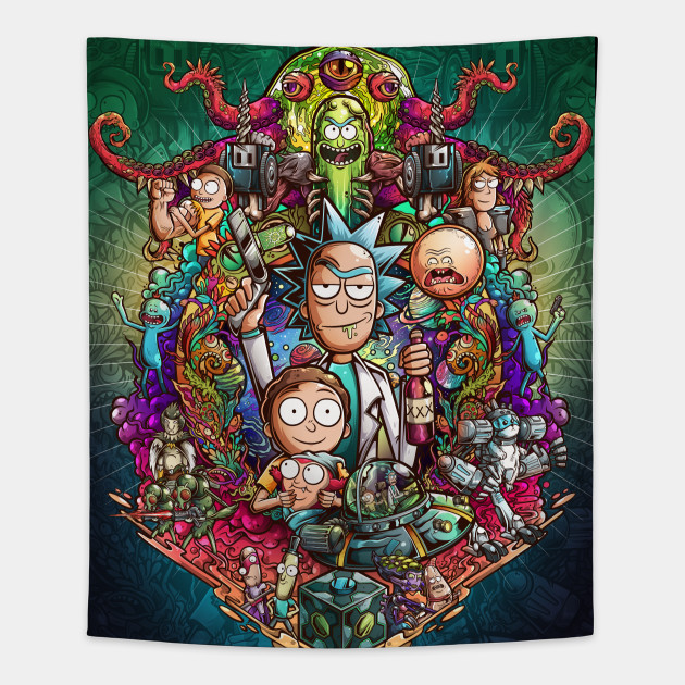 Buckle Up Morty! (Poster)