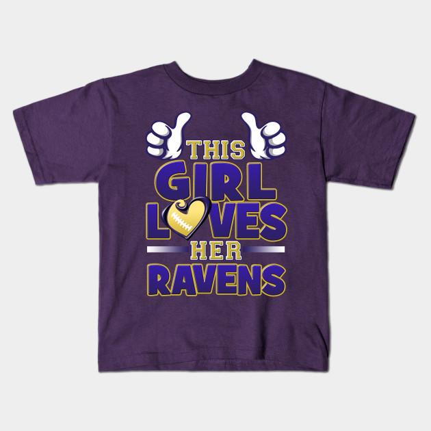 4d56f945 This Girl Loves Her Ravens Football