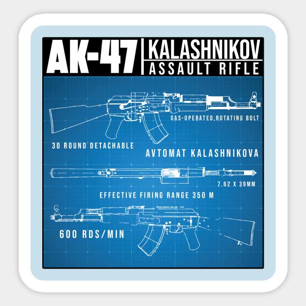 AK-47 BLUEPRINT on