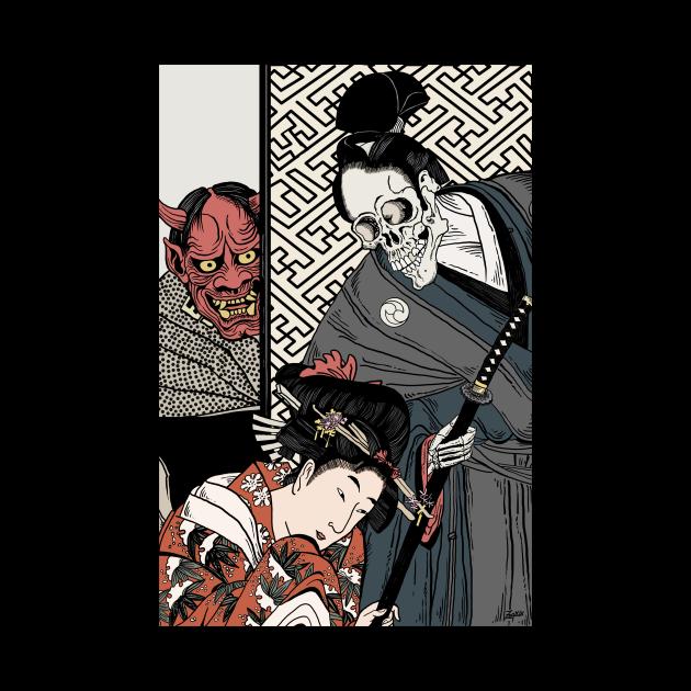 Samurai Death and the Maiden