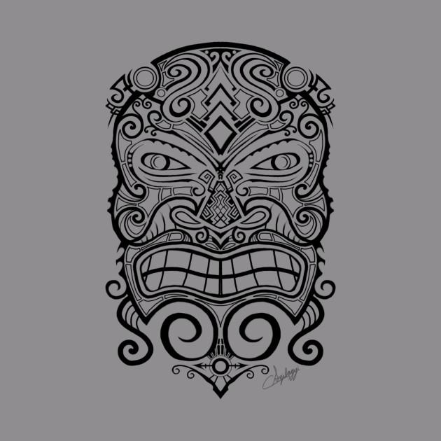 75fed5e5c5ebc Tiki Mask Tattoo - Tiki Tiki - Hoodie   TeePublic