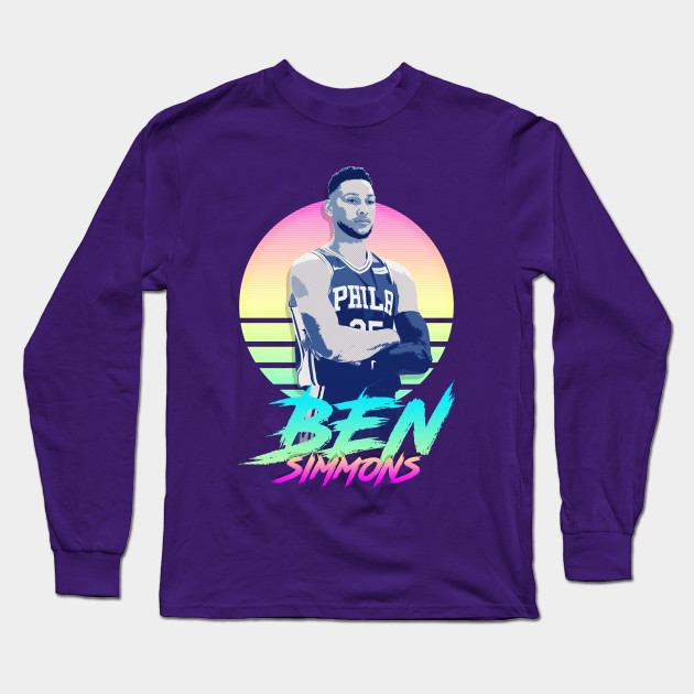 the best attitude abd96 541b7 Ben Simmons Retro Futuristic Aesthetic