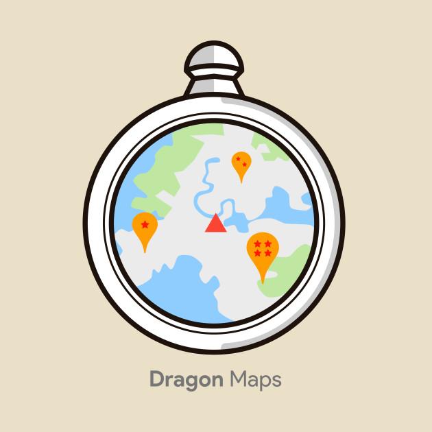 Dragon Ball Maps