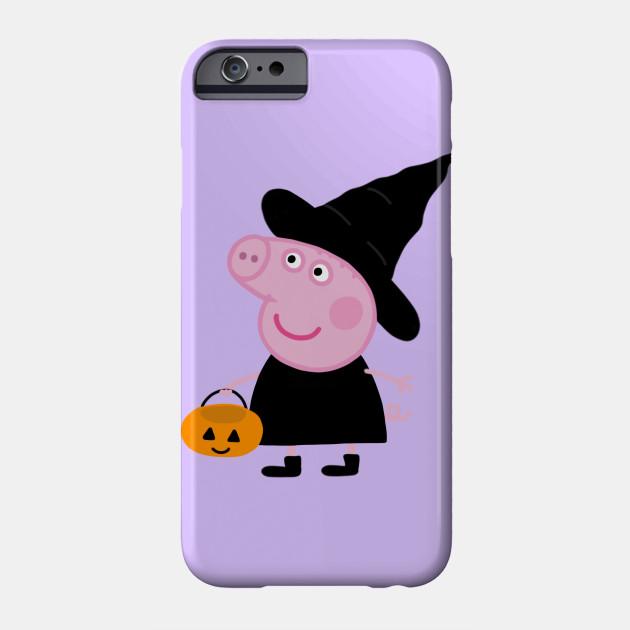 Peppa pig halloween - Peppa Pig - Phone Case | TeePublic