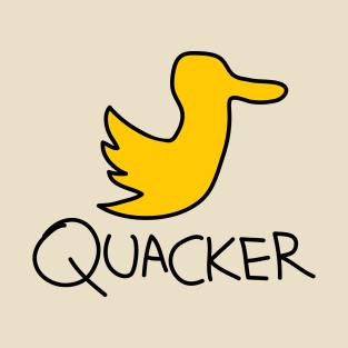 Quacker Social t-shirts