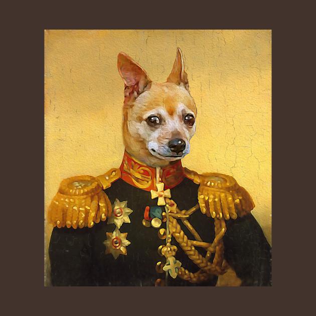 Chiuahuah Military Portrait