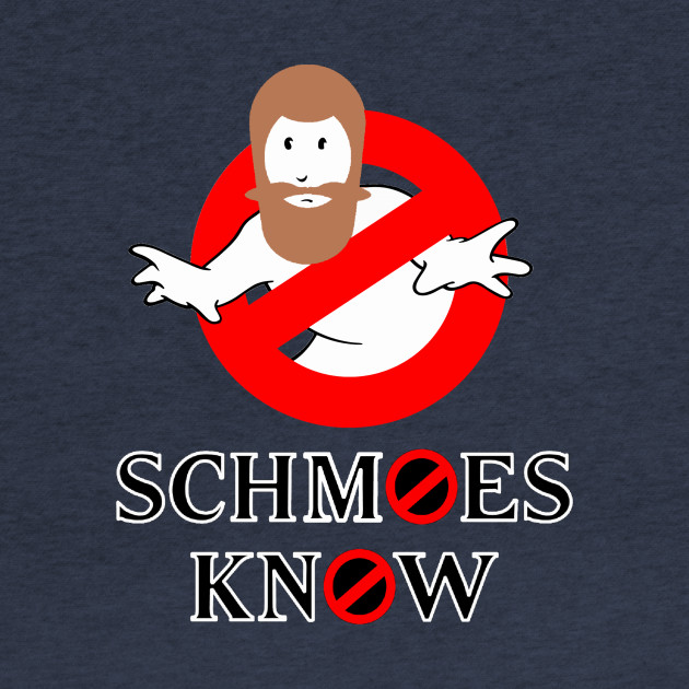 SCHMOES KNOW GHOSTBUSTERS FINSTOCK DESIGN