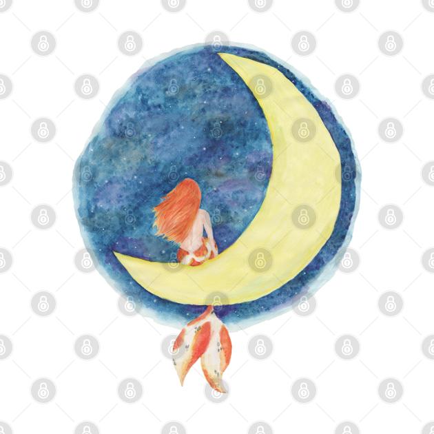 Koi Mermaid - Mermay 2019 - Sitting on the Moon