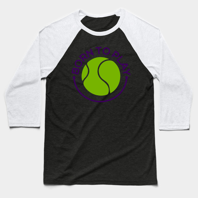 Because a Ball is Born to Play Baseball T-Shirt