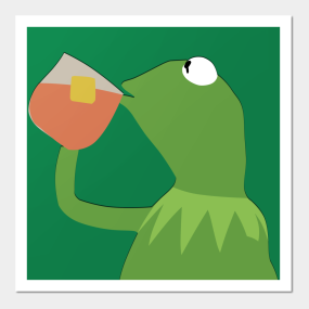 Kermit The Frog Posters And Art Prints Teepublic