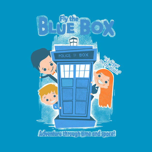 Fly the blue box