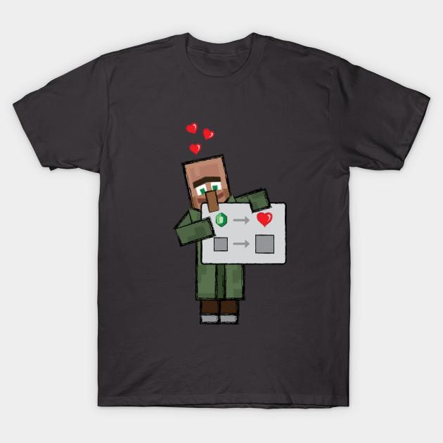 Minecraft Villager Love