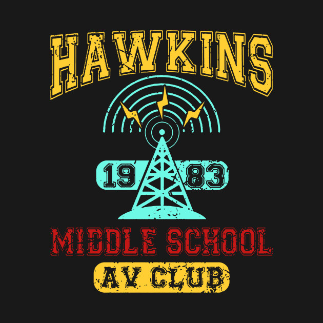 Stranger Things Tee - Hawkins AV Club 1