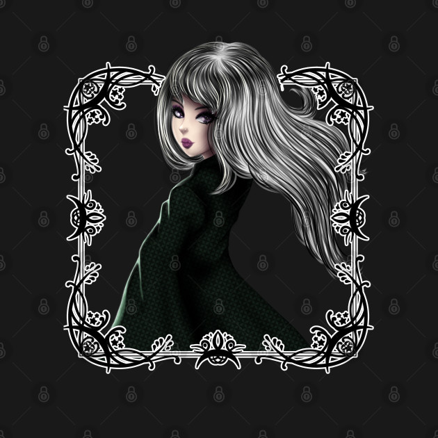 Gothic Anime Style Girl