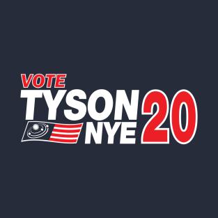 Tyson / Nye 2020 t-shirts