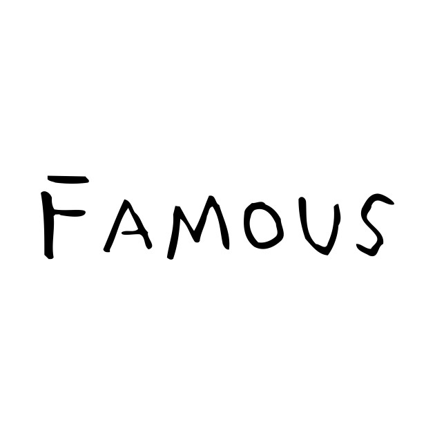 famous on back