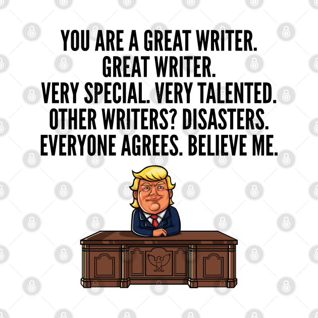 great writer trump