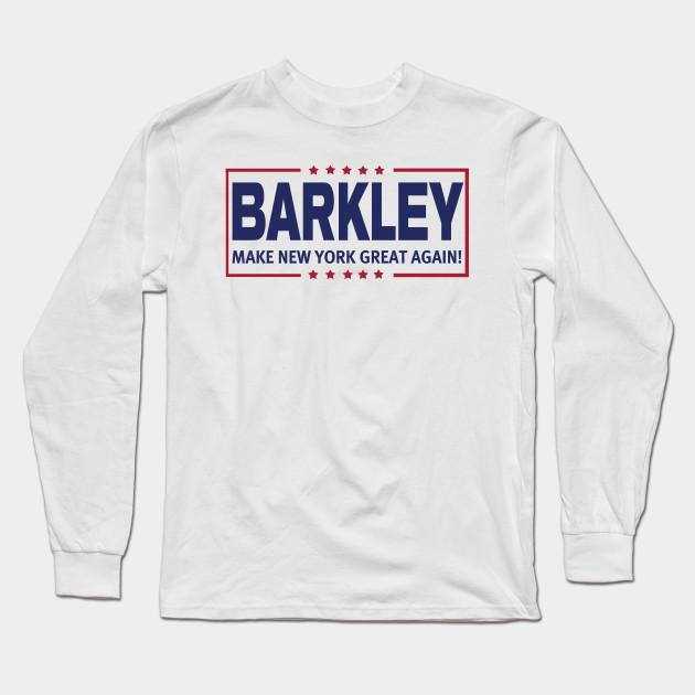 8f73738c7 Barkley MNYGA! - New York Giants - Long Sleeve T-Shirt