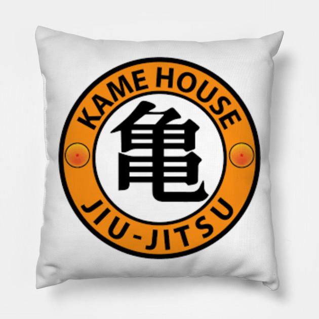 Kame House Jiu Jitsu Dragon Ball Pillow Teepublic