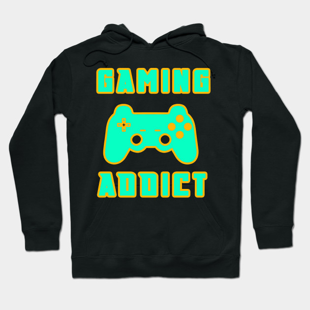 Gaming Addict Gamepad console gaming Hoodie