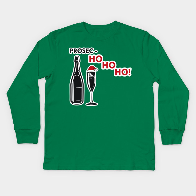 9c8d0a991d94 Prosec Ho Ho Ho Prosecco Shirt Christmas Holiday Xmas Funny Drink Drinking  Party Alcohol Tshirt Gift ...