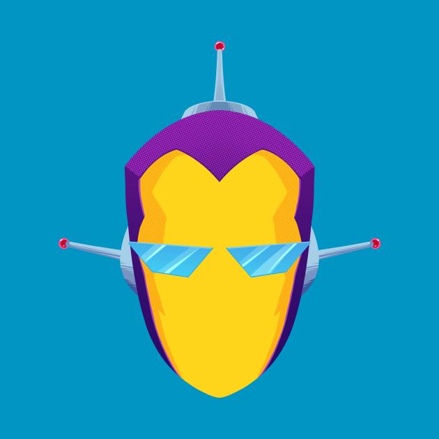 SPACEMAN – Graphic Portrait