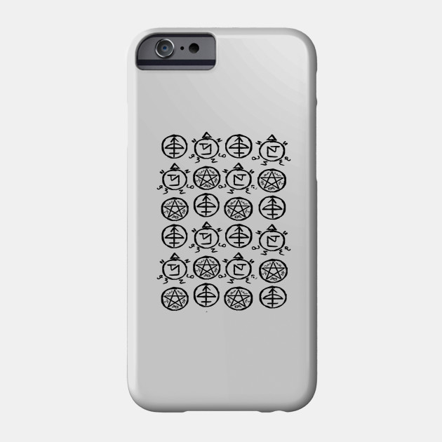 Symbols Supernatural Phone Case Teepublic
