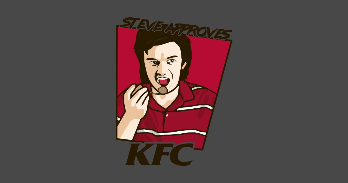 Steve approves KFC T-Shirt