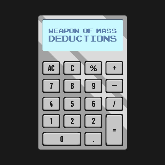 Mass Deductions | Funny Accountant Calculator
