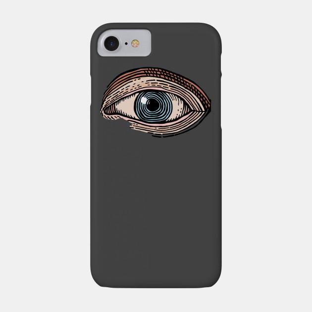 Engraved Eye in Color
