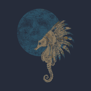 seahorse design t shirts teepublic