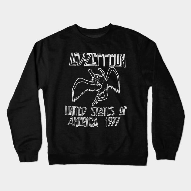 13cf7b5f Led Zeppelin Raglan 3 4Sleeve Softball T-Shirts - America - Crewneck ...