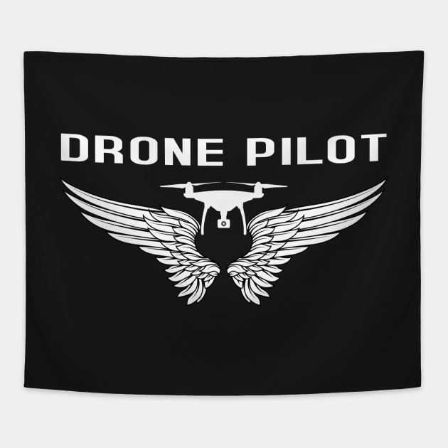 Drone Pilot with Wings