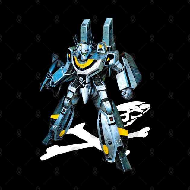 Skull-One VF-1S Valkyrie