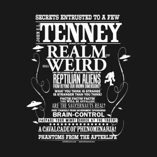 Tenney's Realm of the Weird t-shirts