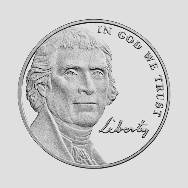 Thomas Jefferson - In God We Trust