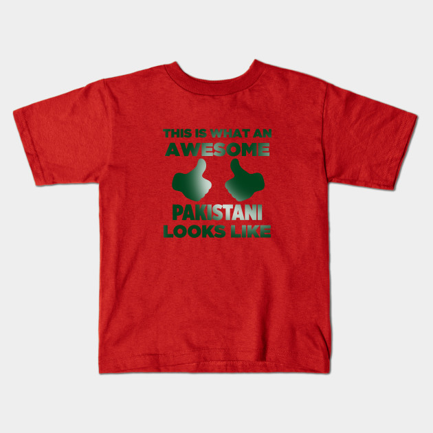 aa259019 An Awesome Pakistani - Pakistan - Kids T-Shirt | TeePublic