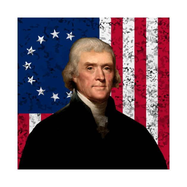 Jefferson and The American Flag